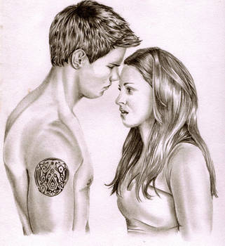 Jacob and Bella by adzbell