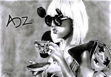 Lady Gaga: Sip Sip by adzbell