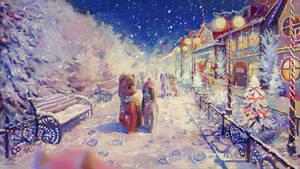 Snowfall by son-trava