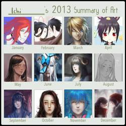 2013 summary of art by Ichi-14