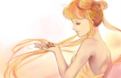 Pink Gold Princess by blobble