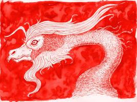 Bearded Phoenix by CDrice
