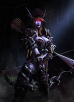 Sylvanas Windrunner, The Dark Lady by Maltheras
