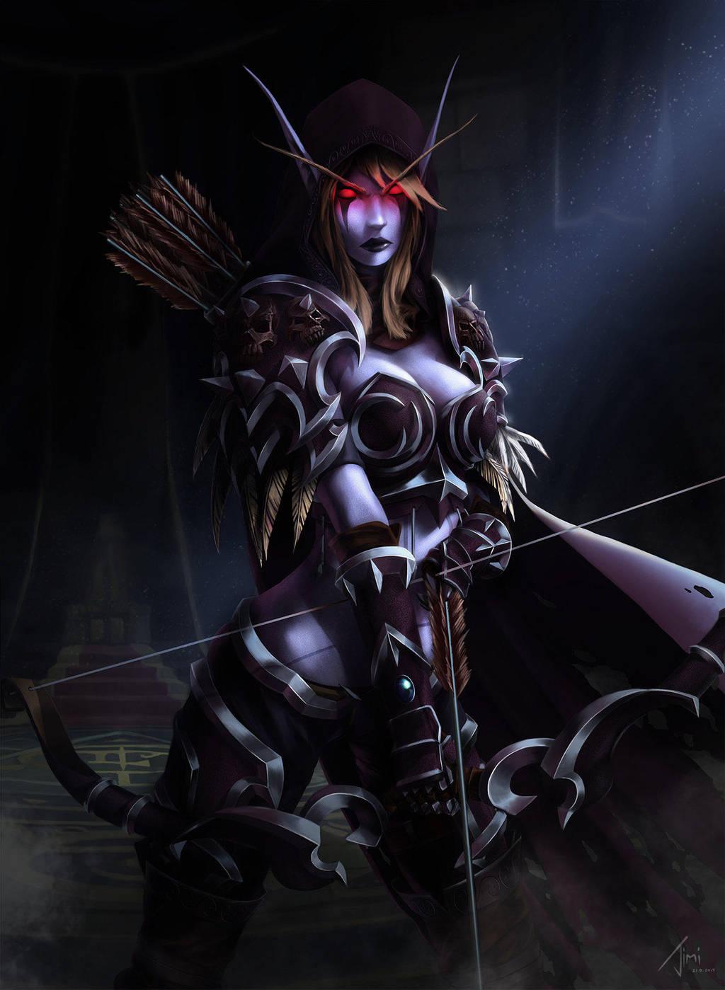 Sylvanas Windrunner, The Dark Lady by Maltheras on DeviantArt