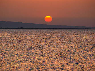 Sunrise in Egypt by Dobina