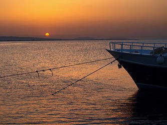Sunrise in Egypt-2 by Dobina