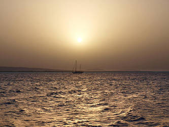 Sunrise in Egypt-3 by Dobina