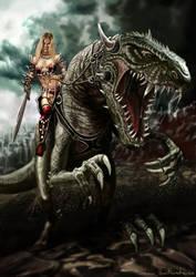 beast rider by SBraithwaite