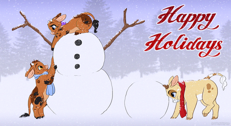 Happy Holidays! by CottonConfection