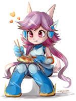 chibi lilac by nikoyosan