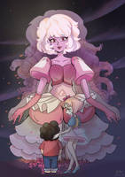 pink diamond  by nikoyosan