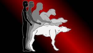 MenschMorphingWolf rot by RetSamys