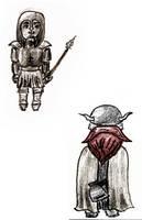[D25] Chibi Viking and Chibi Roman by RetSamys