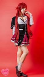 Rias Gremory Cosplay highschool dxd by KoKoa Yuki by himariyuki54