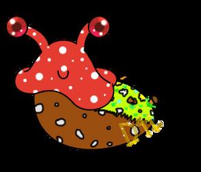 Artober 2017 #3 - Poison (Amanita Slugboat) (OPEN) by Dance4life628