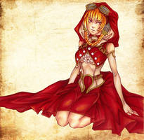 little red riding hood by noCka