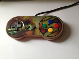 Super Metroid Snes controller by Hananas-nl