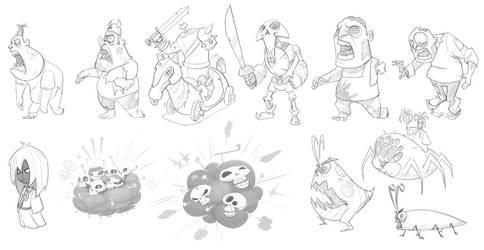 sketches by schumak