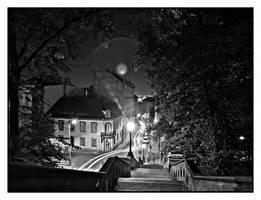 Night in Budapest by Csipesz