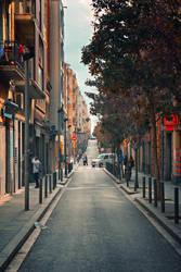 Barcelona street....3 by Csipesz
