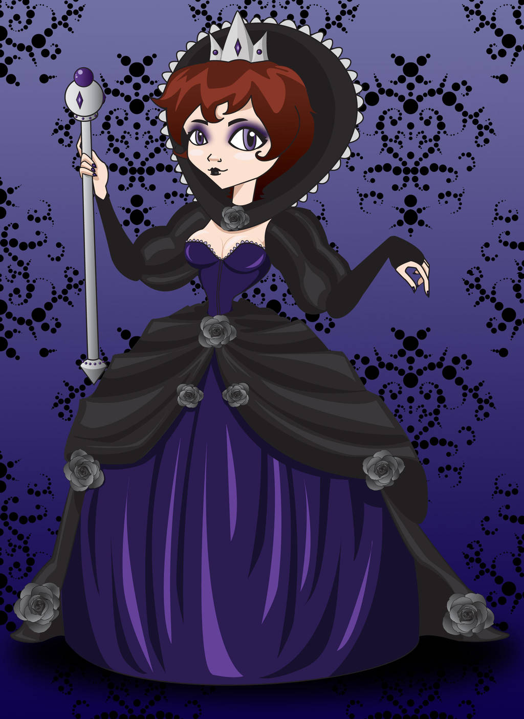 The Black Queen by IndigoFlamingo