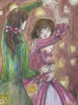 TGS: Aprehensive Dancer by IndigoFlamingo