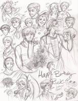 Gift: Happy Birthday HcRussia by IndigoFlamingo