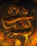 The Fiery Feast by IndigoFlamingo