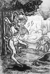 Day 22: The Musician by IndigoFlamingo