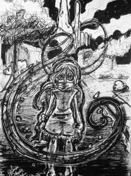 Day 24: The Old Child by IndigoFlamingo