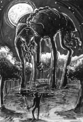 Day 28: Behemoth by IndigoFlamingo