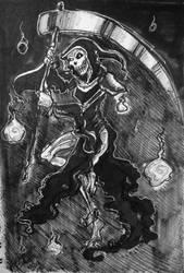 Day 29: Grim Reaper by IndigoFlamingo