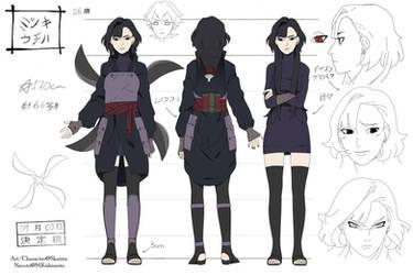 Naruto OC Reference |Mitsuki Uchiha by shisaireru