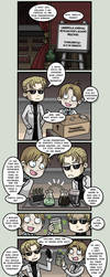 RE - Comic 005 Pt.1 by PracticalAl
