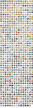 Pokemon Shuffle White Background by KrocF4