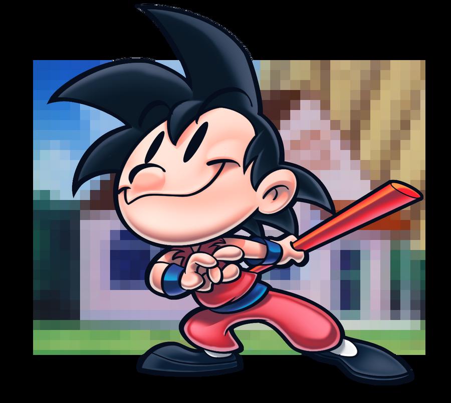 Goku. by Etbaal
