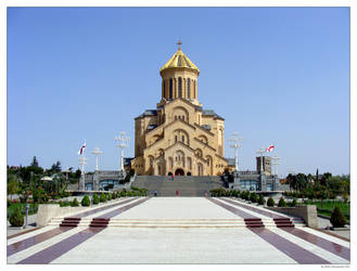 Sameba Cathedral by Alexander-GG