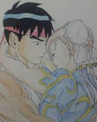 Ryu x Chun-li 4 by vmartinezkoh