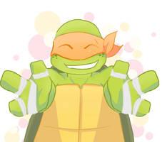 Mikey doodle by Mizu-Inu