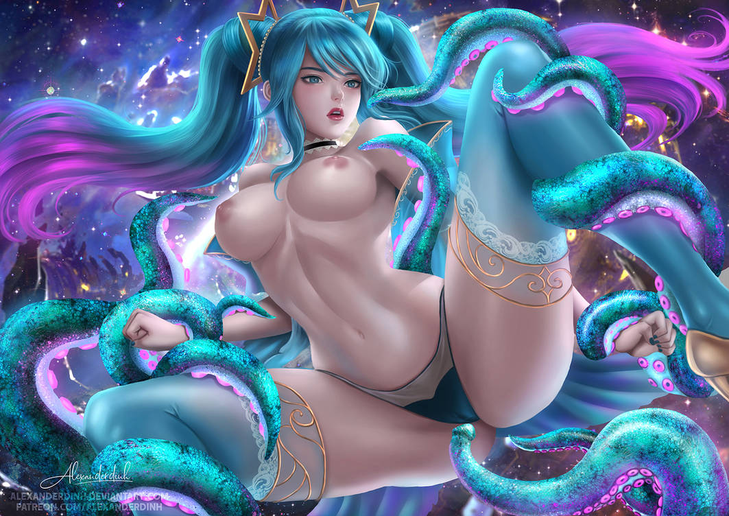 Sona in trouble NSFW by alexanderdinh