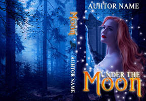 Under The Moon ( Contest book cover) ( Available) by liviapaixao