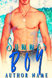 Summer Boy Book Cover ( Available) by liviapaixao