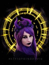 Lady of the Arcane by liviapaixao