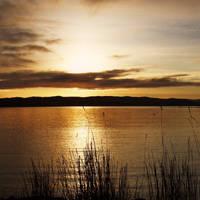 Sunrise over Hillswick by Heylormammy