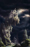 Ancient Temple by Lac-Tic