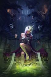 Swamp Princess by Lac-Tic