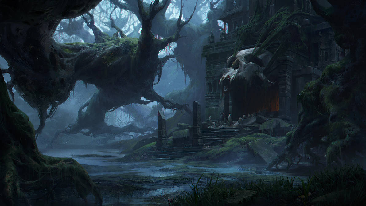 Skull Temple by Lac-Tic