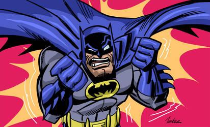 Batmanpissed by SpawnofSprang