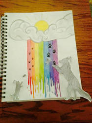 Over the Rainbow Bridge by Kiba-Aido