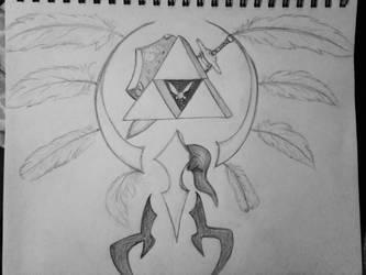 Triforce by Kiba-Aido